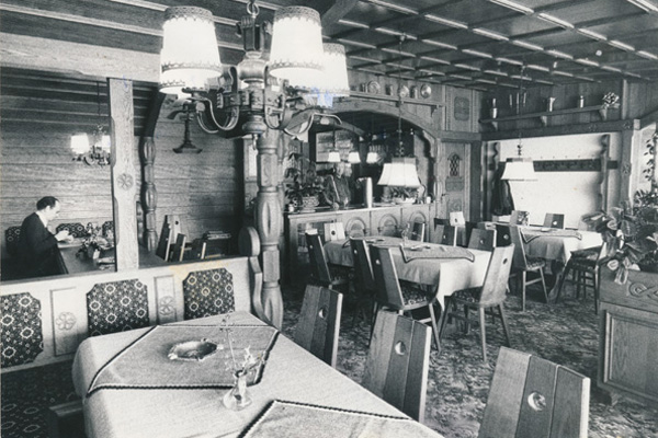 Cafe Beck Damals 1970er Jahre