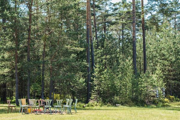 Tipi Hochzeit in Waldlichtung #4